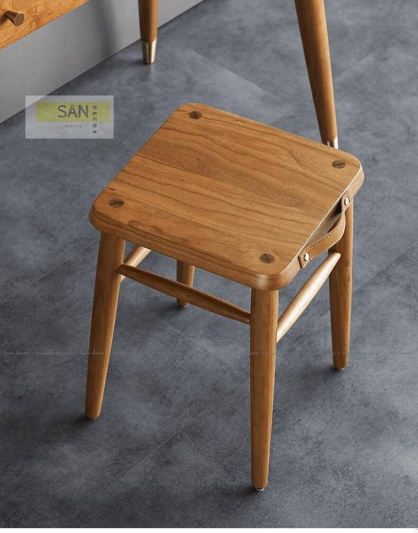 Ghế đơn gỗ tự nhiên Classic SAN Decor