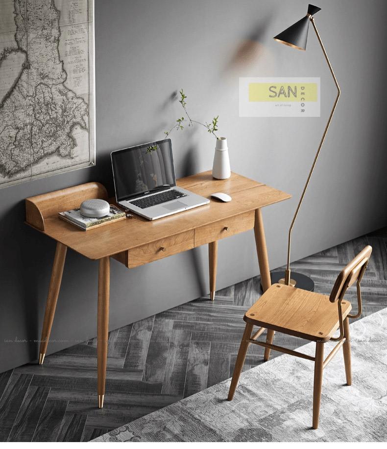 Nội thất bàn ghế gỗ làm việc đẹp