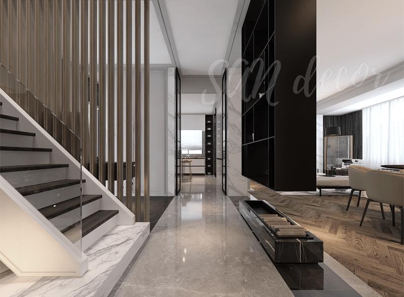 Thiết kế thi công biệt thự hiện đại 400m2 SAN Decor