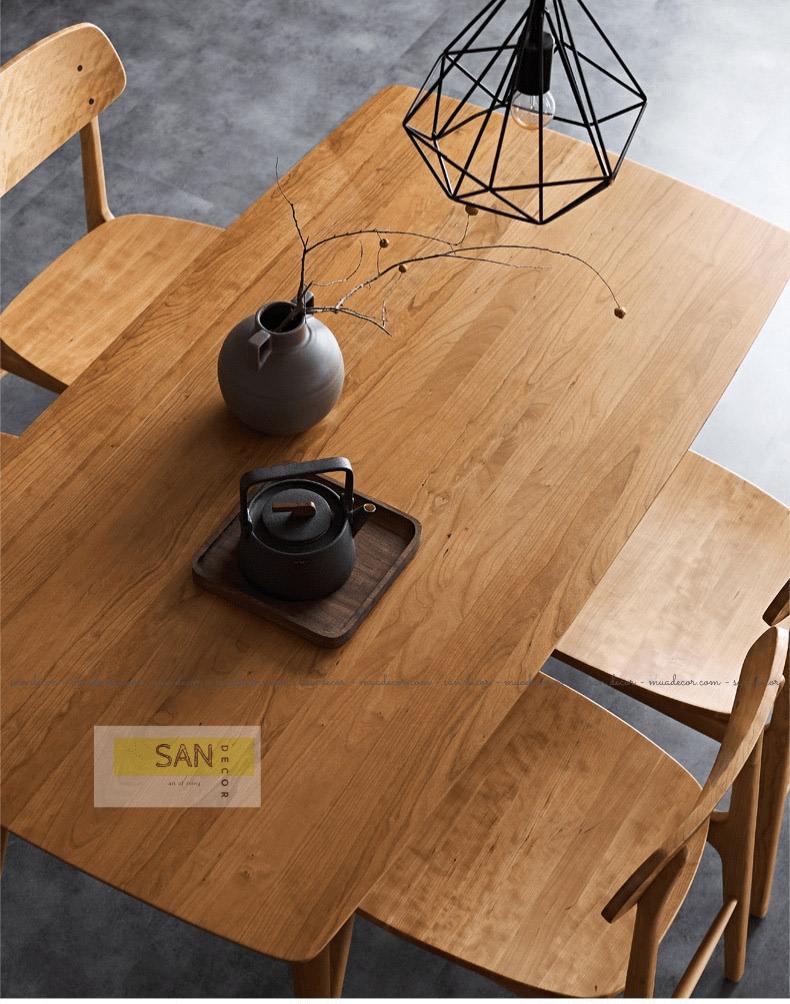 nội thất gỗ tự nhiên tiêu chuẩn FAS